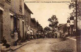 CHALLERANGE - Canton De Monthois La Fromagerie Dairy Etablissement COIFFIER Pompes à Essence Gas Pumps - ARDENNES  08400 - Autres Communes