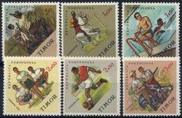 Soccer Football Timor 1963 #337/42 MNH ** - Soccer