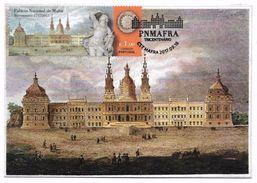 Portugal Carte Maximum Palais Et  Couvent De Mafra Palais Nationaux 2017 Mafra Palace And Convent Maxicard - Cartoline Maximum