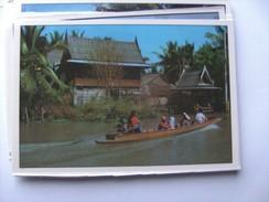 Azië Asia Thailand Bangkok View Of Klong Canal - Thailand