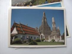 Azië Asia Thailand Bangkok Temple Of Dawn The Pagoda - Thailand