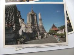 Azië Asia Thailand Bangkok The Temple Of Dawn With Pagoda - Thailand