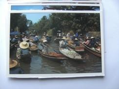 Azië Asia Thailand Bangkok Floating Market Rajburi Province Damnernsaduak - Thailand
