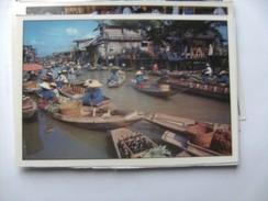 Azië Asia Thailand Bangkok Floating Market Rajburi Province Damnernsaduak Nice - Thailand