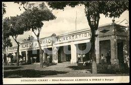 OLD POSTCARD HOTEL BANGUI CHARI CENTRAL AFRICAN REPUBLIC FRANCE COLONIE AFRICA AFRIQUE  CARTE POSTALE - Ansichtskarten