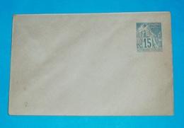 FRZ. KOLONIEN - Ganzsache - Brief Letter Lettre 信 Lettera Carta письмо Brev 手紙 จดหมาย Cover Envelope (2 Foto)(34301) - France (ex-colonies & Protectorats)