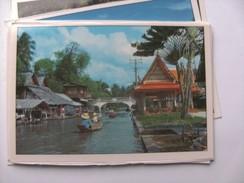 Azië Asia Thailand Bangkok Floating Market Chai - Thailand