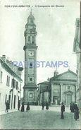 81361 ITALY PORTOMAGGIORE EMILIA ROMAÑA BELL THE CHURCH POSTAL POSTCARD - Italia