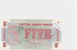 Billets - B2789 -British Armed Forces - 5 New Pence (type, Nature, Valeur, état... Voir  Double Scans) - Andere