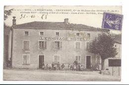 63/ PUY De DOME...L4HERMITAGE-CHAVAROT, Cne De Saint Des Ollières. Station D'Eté Et D'Hiver. Cure D'Air BOYER Propriétai - Frankrijk