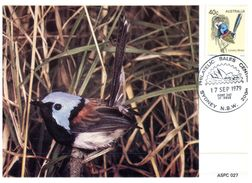 (118) Australia Early Maxicard - 1979 - Birds - (6) - Cartoline Maximum
