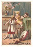 Chromo Chocolat Senez-Sturbelle - Publicité / Reclame Chocolat En Gros à Schaerbeek / Schaarbeek - Altri