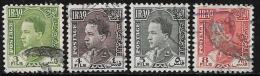 Iraq, Scott # 63-6 Used King Ghazi, 1934 - Iraq