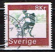 SUEDE /Oblitérés/Used/ 1999 - Bicyclettes - Oblitérés