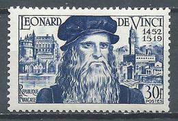 France YT N°929 Léonard De Vinci Neuf ** - France