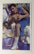 Slovenia Basketball Cards Stickers Nr.201 Slovenia : Italy - Stickers