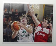 Slovenia Basketball Cards Stickers Nr.196-197  Zoran Dragic Slovenia Poland  EUROBasket - Stickers
