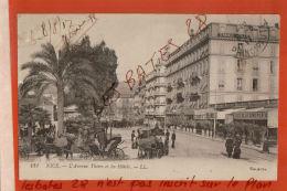 CPA 06  NICE L'Avenue Tiers Et Les Hôtels      Nov 2017 77 - Cafés, Hotels, Restaurants