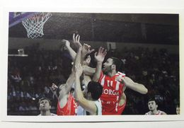 Slovenia Basketball Cards Stickers Nr.194 Slovenia : Georgia EUROBasket - Stickers
