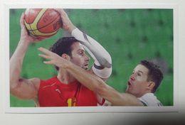 Slovenia Basketball Cards Stickers Nr.188 Jaka Lakovic  Slovenia : Montenegro EUROBasket - Stickers