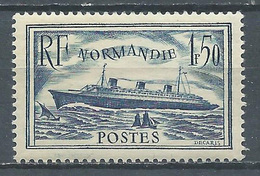 France YT N°299 Paquebot Normandie Neuf/charnière * - Ongebruikt