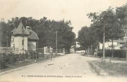 """CPA FRANCE 69 """"St Georges De Reneins, Route De Rivière"""" - Autres Communes"""