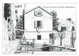 """CPM FRANCE 46 """"Ecluse Et Voute De Caillac Montbrun"""" - Altri Comuni"""