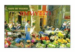 CPM - Terrasse Du Café Et Fleuriste - Arrière Pays Méditerranéen - Photo MORANDI - Ed. MERIDIONALES - Scans Recto-Verso - Cafés