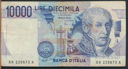 °°° ITALIA - 10000 LIRE VOLTA 21/12/1999 SERIE XH SERIE SPECIALE °°° - [ 2] 1946-… : Repubblica