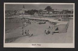 REAL PHOTO POSTCARD 1940 Years ESTORIL  Praia -  PORTUGAL Z1 - Postcards