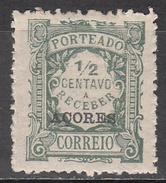 AZORES     SCOTT NO. J30     MINT HINGED     YEAR  1922 - Azores