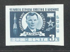 Russia/USSR 1961,Space Yuri Gagarin Imperf,Sc 2463,VF MNH** - Space