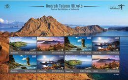 Indonesia MNH Miniature Sheet 10.02.2017 Tourismn - Indonesia