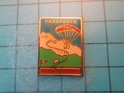 Pin413e Pin's Pins / SPORTS : Rare PARAPENTE BOURG SAINT MAURICE , Belle Qualité !!!    Marquage Au Dos : ---- - Parachutting