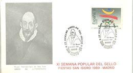 POSTMARKET ESPAÑA  1989  EL GRECO - Sonstige