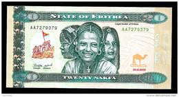 ERITREA : 20  Nafka - 2012 - UNC - Eritrea