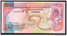 S. TOME E PRINCIPE : 500 Dobras - 1993 - UNC - San Tomé E Principe