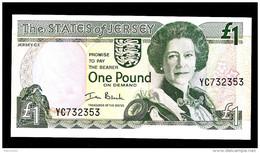 JERSEY  :  1 Pound - P26b - 2000 -  UNC - Jersey