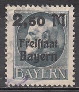 BAVARIA    SCOTT NO. 233   USED   YEAR  1920 - Bavaria