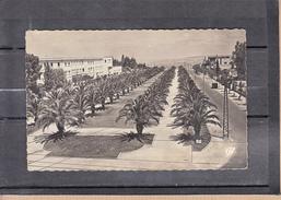CPSM  De  MEKNES Maroc  L'Esplanade Du Docteur Giguet   Le 19 3 1956  En F.M.  Pour VANNES  Morbihan - Storia Postale