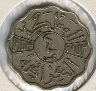 Iraq 4 Fils 1953 - 1372 KM 111 - Iraq
