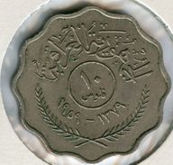 Iraq 10 Fils 1959 KM 121 - Iraq