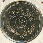 Iraq 250 Fils 1971 1 Ans De Paix Avec Les Kurdes Kurdistan KM 131 - Iraq