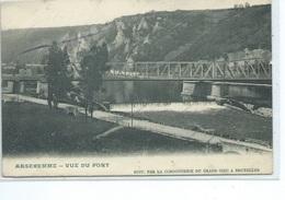 Anseremme Vue Du Pont ( Carte Publicitaire Pour Les Bottes Aigle ) Cordonnerie Du Grand Chic Bruxelles - Dukinson Boston - Dinant