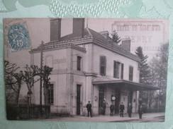 Bazeille ; La Gare ; Cachet Hotel Du Lion  D Or - Otros Municipios