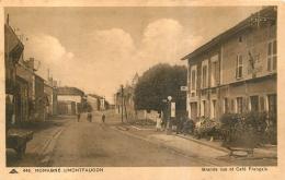 ROMAGNE SOUS MONTFAUCON GRANDE RUE ET CAFE FRANCAIS - Sonstige Gemeinden
