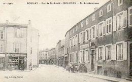 CPA - BOULAY (57) - Aspect De La Rue De St-Avold Dans Les Années 20 - Boulay Moselle