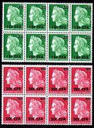 REUNION - YT N° 384-385 X8 - Neufs ** - MNH - Cote: 12,00 € - Isola Di Rèunion (1852-1975)