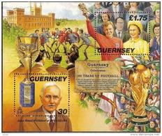 Guernsey Guernesey 1997 Yvertn° Bloc 39 *** MNH Cote 10,00 Euro  Sport Football - Guernesey