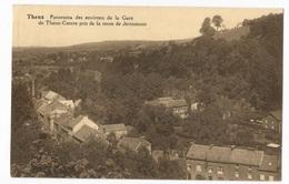 Theux Panorama Des Environs De La Gare Pris De La Route De Jevoumont Carte Postale Ancienne - Theux